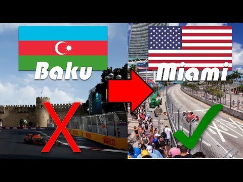 2019 Miami Grand Prix to replace the Azerbaijan Grand Prix!? - F1 News