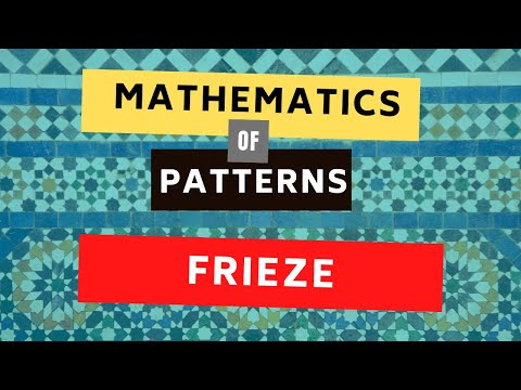 What are Frieze Patterns | Math in the Modern World Patterns