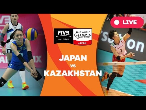 Japan v Kazakhstan - 2016 Women's World Olympic Qualificatio