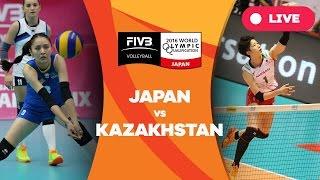 Japan v Kazakhstan - 2016 Women's World Olympic Qualification Tournament