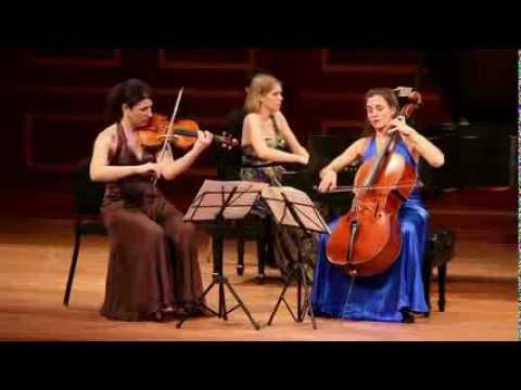 """Cortona Trio plays Dvorak """"Dumky"""" Trio, ii."""