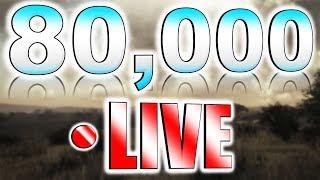 80,000 Subscriber Celebration Stream ❤