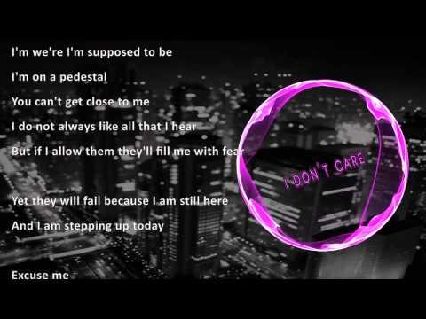 I Don't Care (Karaoke video)
