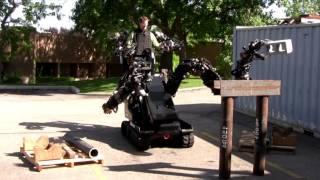 Sarcos Robot Exoskeleton