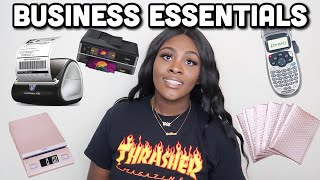 ESSENTIALS FOR RUNNING AN ONLINE BUSINESS! | BOSSED UP EP. 4 | LIFE OF AN ENTREPRENEUR
