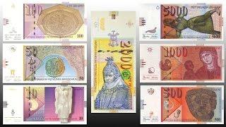 All Macedonian banknotes and coins (1992-2016)
