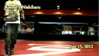 Round 1 Nishiharu Jun 15, 2012