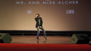 WINNER of MR. ALCHERINGA 2015 -Michael Jackson solo dance in Bollywood Songs Mashup - IIT Guwahati