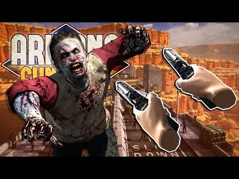We Had To Escape The Zombie Apocalypse in VR! - Arizona Sunshine Multiplayer VR Gameplay |