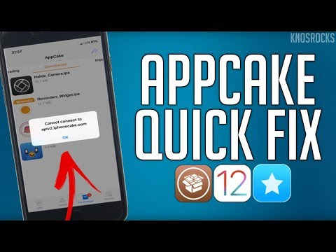 How To FIX AppCake Apps Crashing iOS 12 - 12 1 2 + Cannot Connect To