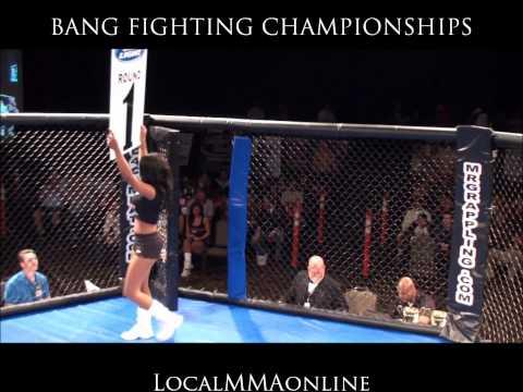 JONATHAN GLASS vs. DANIEL MORGAN - BANG FIGHTING Championships 12; 10-22-2011