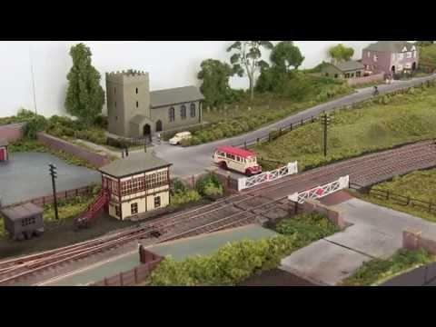 Middle Elmton N Gauge Model Railway