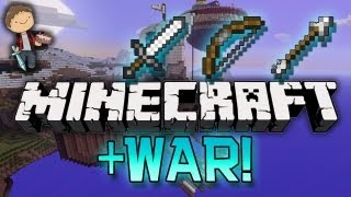 Minecraft: Lava Core, Capture the Monument - WAR Mini-Games w/Mitch & Jerome!