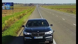 I TOOK A HITCHHIKER WITH MY BMW SERIES 7