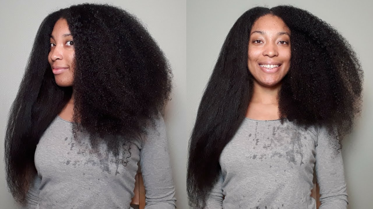 Straight to Curly with RICE WATER | No Heat Damage