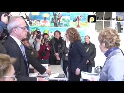 NKM, Anne Hidalgo cast their vote in Paris local elections