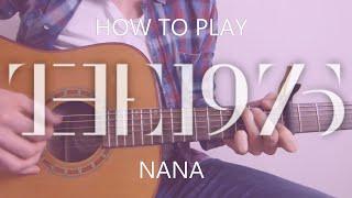 The 1975 Nana Tab Cover - Guitar Lesson