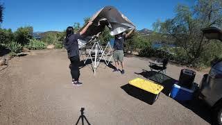Lake Jennings campground near San Diego, CA.