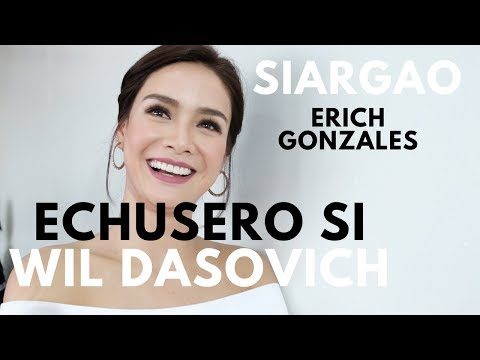 MMFF 2017 Siargao Movie Star Erich Gonzales & Direk Paul Sor
