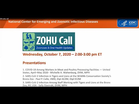 CDC ZOHU Call October 7, 2020