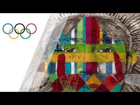 Making the World Record Graffiti Mural in Rio | 5 Lives