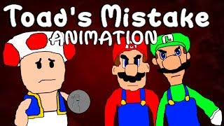 SML Short: Toad's Mistake! Animation