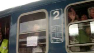 Címeres  vonat  Nagyváradon Thumbnail