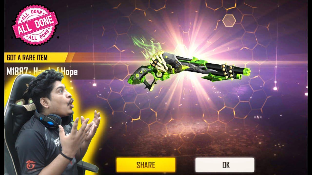 Download Hand of Hope Gun Series New M1887 ShotGuns Spin