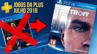 JOGOS GRÁTIS DA PSN PLUS DE JULHO 2019 (OFICIAL-ATUALIZADO) - TROCA DE JOGOS!