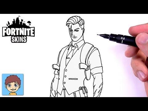 Comment Dessiner Marshmello Fortnite Facilement Dessin Facile A Faire Dessin De Fortnite Youtube
