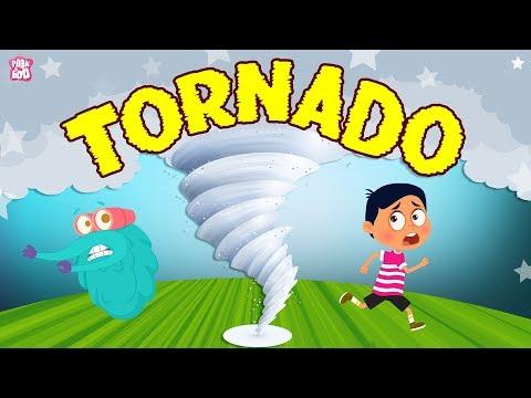 What Is A Tornado? The Dr. Binocs Show | Best Learning Videos For Kids | Peekaboo Kidz