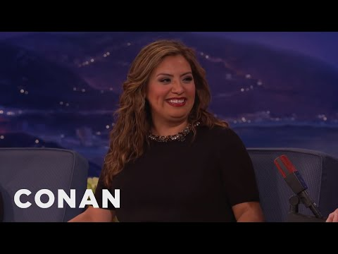 """Cristela Alonzo's """"Sons Of Anarchy"""" Role  - CONAN on TBS"""