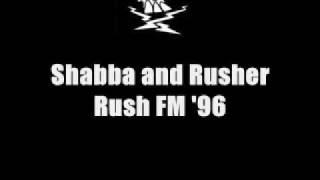 Rusher and Shabba on Rush FM 1996