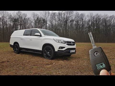SsangYong Musso Grand 4x4 2.2 181 TEST 새해 복 많이 받으세요 2020!