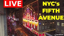 Welcome to NYC's Fifth Avenue! | Live from NYC's 5th Avenue! | EarthCam
