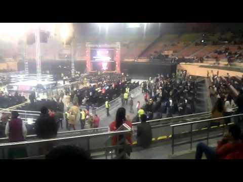 Wwe live India Stadium from inside IGI Stadium