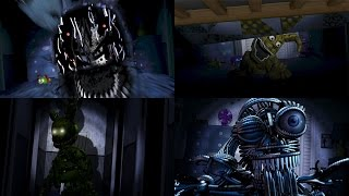 - FNaF ALL Custom Secrets COMPILATION 2016 FNAF 4 WayTwo