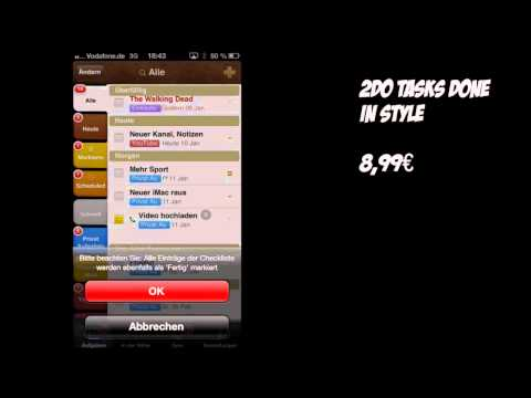 │Review│ iPhone Apps: 2Do + Week Cal  [+INFOS] [HD]