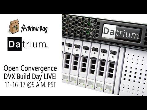 Datrium Build Day DVX Open Convergence