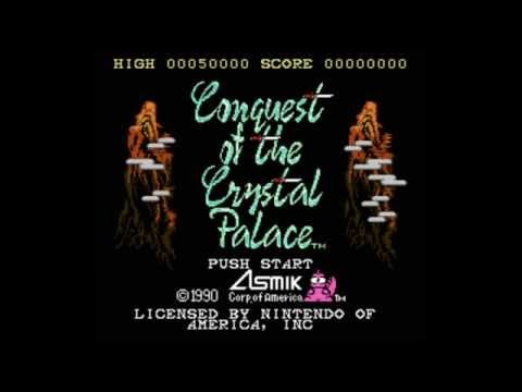 [NES] Conquest of the Crystal Palace walkthrough (no death)