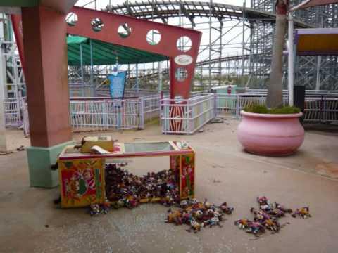 Hurricane Katrina Abandoned Amusement Park 6 Flags New Orleans