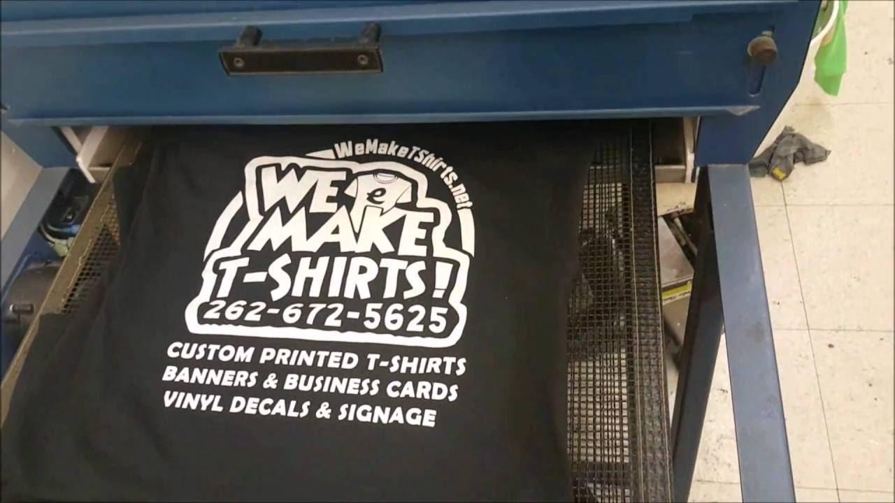 We Make T-Shirts   Custom Silk Screen Printing   Racine Wisocnsin ...
