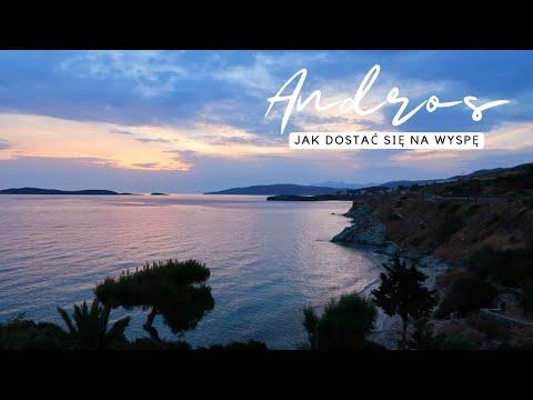 Jak dostać się na wyspę ANDROS? | vlog