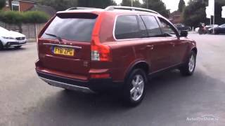 VOLVO XC90 D5 ACTIVE AWD RED 2011