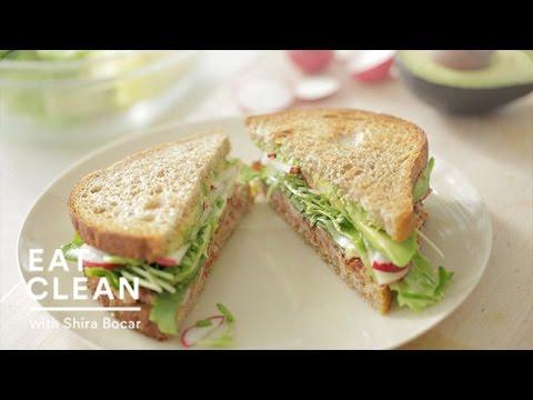 Chipotle-Avocado Summer Sandwich Recipe - Eat Clean with Shira Bocar