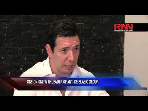 One-on-One With Leader of Anti-De Blasio Group