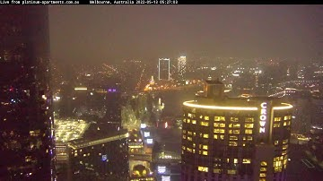 Live Feed MELBOURNE 24/7 from Platinum Apartments,