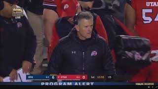 College Football 2018    BYU vs #17 Utah