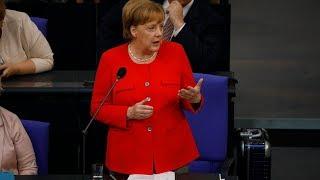 Merkel stellt sich Regierungsbefragung im Bundestag