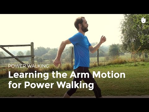 Learning the Arm Motion for Power Walking | Power Walking